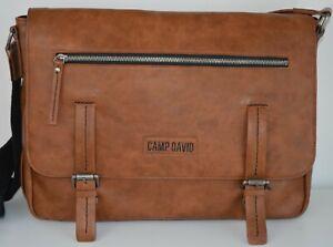 neue Schulter Business College Tasche von CAMP DAVID Neupreis 99€ ab 1€ !!!