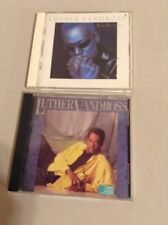 "Luther Vandross CDs Set of 2 ""Your Secret Love "" & ""Give Me The Reason"" (165)"