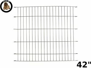 Black Divider for 42 inch Extra Large Dog Crate Cage