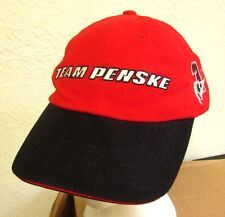 PENSKE RACING baseball hat Al Unser Jr. cap Helio Castroneves Indy racing