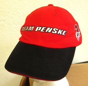 PENSKE RACING baseball hat Al Unser Jr. cap Helio Castroneves Indy racing