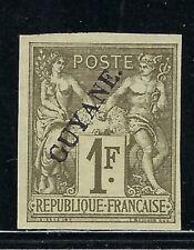 B&D: 1892 French Guiana Scott 17 Mng 4-margins-clean