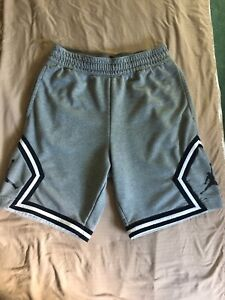 Jordan Jumpman Grey/Blue Diamond Shorts Size Small - Only Worn A Few Times