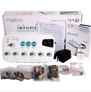 Hwato Upgrade SDZ-II Electronic Acupuncture Stimulator Machine 6 output channel