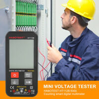 HABOTEST HT112B 6000 Counts Intelligent Digital Multimeter NCV True RMS Tester
