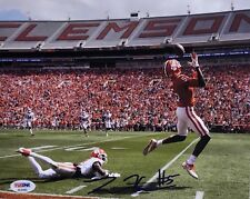 Tee Higgins Signed Autographed 8x10 Photo Clemson Tigers National Champs Psa/D