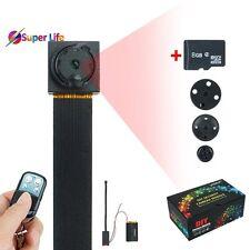 8GB 1920x1080P HD Hidden Camera Button Mini DV Camcorder Motion Detect DVR Spy