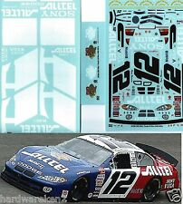 NASCAR DECAL #12 ALLTEL - PENSKE 50 WINS  RYAN NEWMAN 2003 DODGE - JWTBM