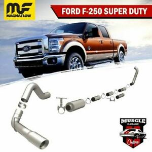 15970 1999-2006 FORD F250/ F350 Super Duty V8 7.3L Magnaflow Turbo-Back Exhaust