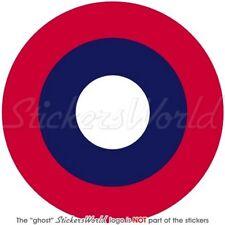 USAF American Expeditionary Force AEF Flugzeug WWII Roundel Sticker Aufkleber