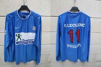 VINTAGE Maillot porté n°11 EQUIPE de FRANCE de la POLICE Nike match worn shirt