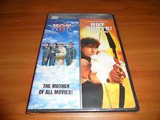 Hot Shots!/Hot Shots! Part Deux (DVD, 2007, 2-Disc Widescreen) Charlie Sheen NEW