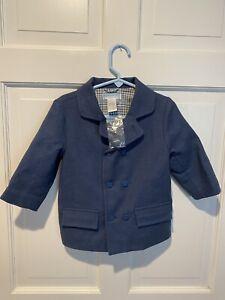 New Toddler Boys Janie and Jack Blazer Jacket size 12-18 mths