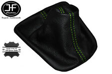 GREEN STITCHING FITS VW NEW BEETLE 1998-2005 LEATHER GEAR GAITER CUSTOM MADE