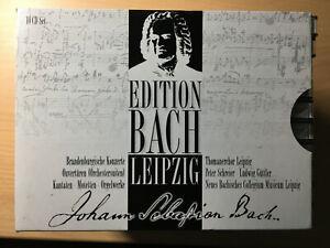 Johann Sebastian Bach, Edition Bach Leipzig, 10 CD im Schuber