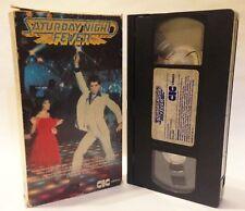 PRE CERT SATURDAY NIGHT FEVER TRAVOLTA CIC EX RENTAL CARTON VIDEO VHS