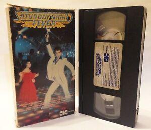 PRE CERT SATURDAY NIGHT FEVER TRAVOLTA CIC EX RENTAL FULL CARTON VIDEO VHS