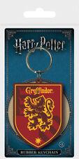 Gummi Schlüsselanhänger HARRY POTTER - Gryffindor Wappen Rubber Keyring RK38693
