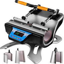 VEVOR 5 in 1 Mug Heat Press 280W Transfer Sublimation Machine Coffee/Cup Printer