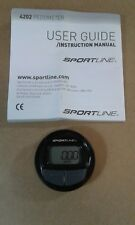 Sportline 4202 Pedometer w/ User Guide