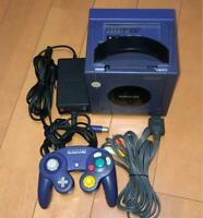Nintendo GameCube Launch Edition Violet Console (NTSC-J) / Acceptable USED JAPAN