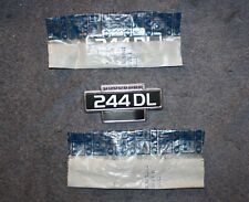 Volvo 240 244 DL Kotflügel Emblem fender badge NOS new old stock