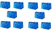 Ikea Large Frakta Bags Set of 10