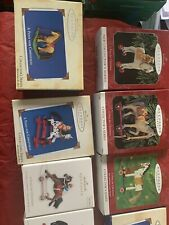 Hallmark Ornaments A Pony For Christmas Lot Including First In Series And 2016