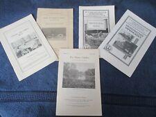 5 - Farmers Bulletin / Department of Agriculture / Original Vintage 1922 - 1936