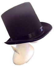 New Adult Party Costume Black Top Hat Party Magician Hat Wedding Fedora Black