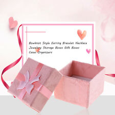 24*Jewelry Box Case Rings,Earrings Cute Beauty Gift Boxes/set Wholesale Small US