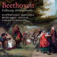 FOLKSONG ARRANGEMENTS 6 CD NEW BEETHOVEN,LUDWIG VAN