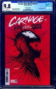 Carnage Black White Blood #1 CGC 9.8 PAT GLEASON WEBBING COVER NM/MT