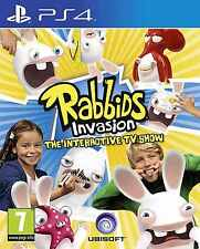 Rabbids Invasion The Interactive TV Show PS4 Playstation 4 - 1st Class Delivery