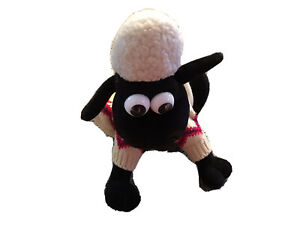 "Vintage 10"" Shaun The Sheep Born To Play 1989"