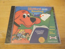 Clifford: The Big Red Dog -- Reading (Windows & Mac, 2000) - Brand New & Sealed!