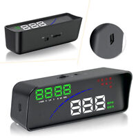"""P9 3.6"""" Car HUD Head Up Display OBDII OBD2 Smart Digital Meters Plug Play"""