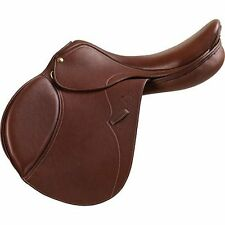 "NEW Pessoa Gen X Natural Saddle with Bayflex - 17.5"" Regular - Free Accessories"