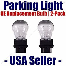 Parking Light Bulb 2-pack OE Replacement Fits Listed Nissan Vehicles - 3457/3357