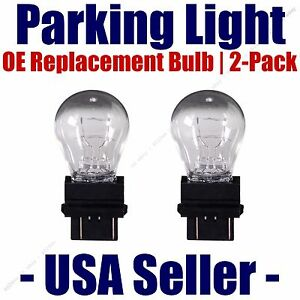 Parking Light Bulb 2-pack OE Replacement Fits Listed Saturn Vehicles - 3457/3357