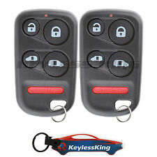 2 Replacement for 1999-2000 Honda Odyssey Key Fob Keyless Entry Car Remote 5btn