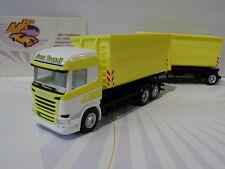 "Herpa 307345 - Scania R HL Abrollmulden-Hängerzug ""Sven Brandt Transporte"" 1:87"