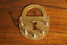 Vintage Solid Brass Wall Mounted Key Holder