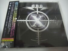 U.D.O.-Mission No. X JAPAN 1st.Press w/OBI Bonus Track Accept Scorpions Sinner