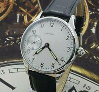 Watch Marriage Iskra ChK-6 3602 Dress Men's WristWatch Vintage Style USSR