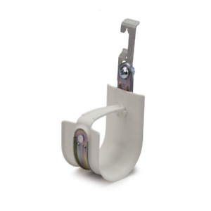 "Platinum Tools HPH48W-25 3"" Batwing Clip HPH J-Hooks Size 48, White"