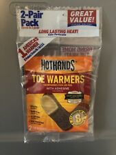 HotHands Toe Warmers with Adhesive Toasti-Toes (2 pair bag)