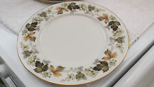 ROYAL DOULTON DINNER PLATE IN LARCHMONT PATTERN TC 1019  A FLORAL PATTERN