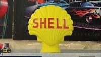 Shell Muschel Deko Figur Skulptur Dekofigur Werbefigur Gips Tankstelle Rep