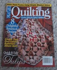 McCall's Quilting  Magazine FEB 1996
